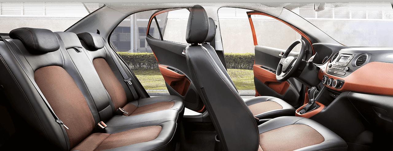 Nội thất của Grand-i10-sedan-2019