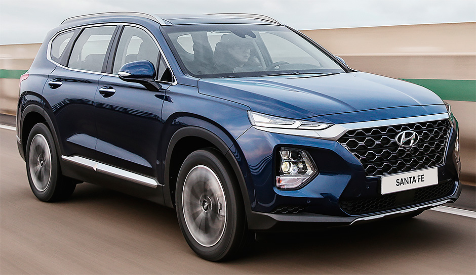 Santafe mẫu SUV chưa bao giờ hết hot của Hyundai