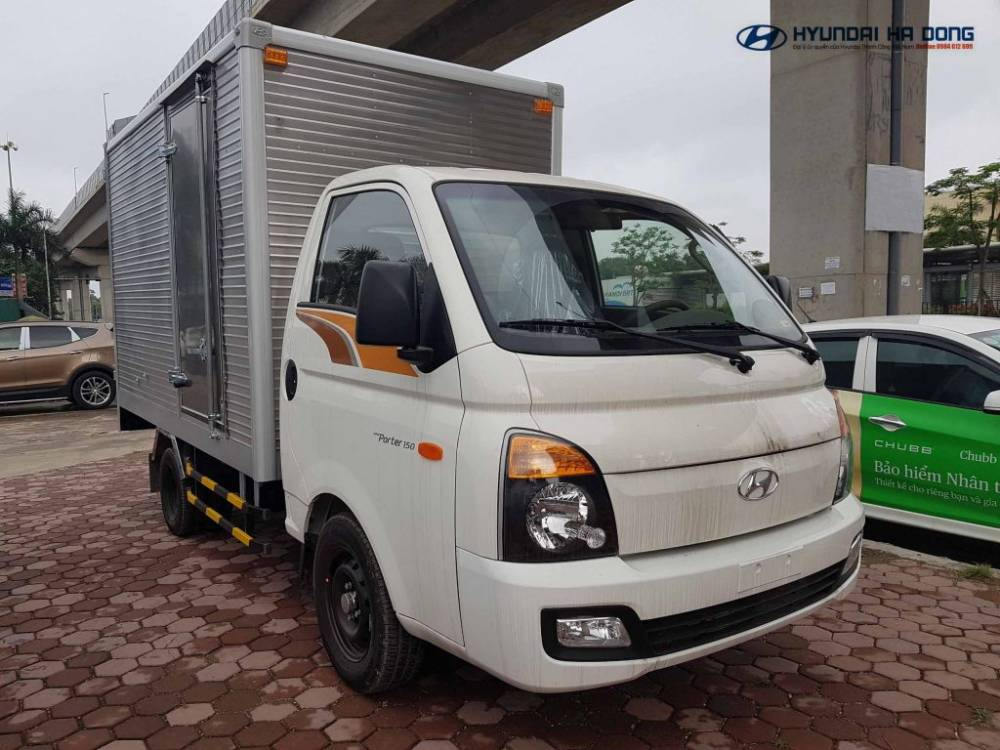 Hyundai Porter thùng kín inox