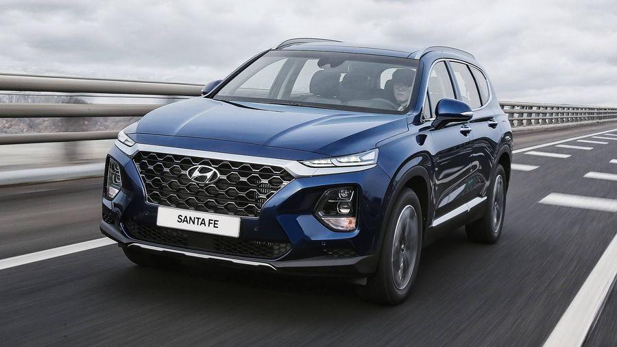Mua Hyundai Santafe trả góp nhanh gọn, dễ dàng