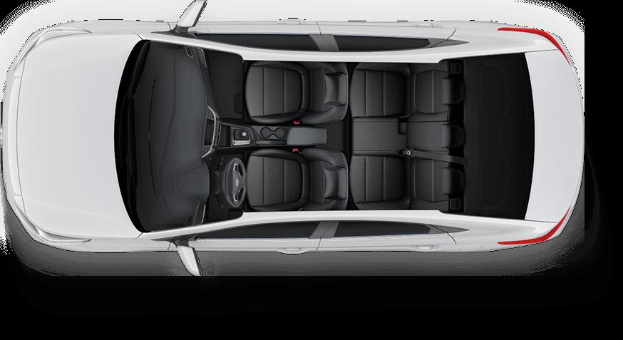 Nội thất Hyundai Accent 2019 bản đặc biệt từ trên xuống