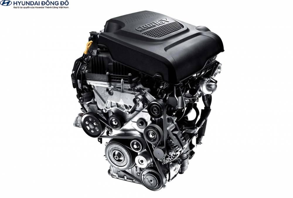 Động cơ Hyundai Santafe máy dầu 2019
