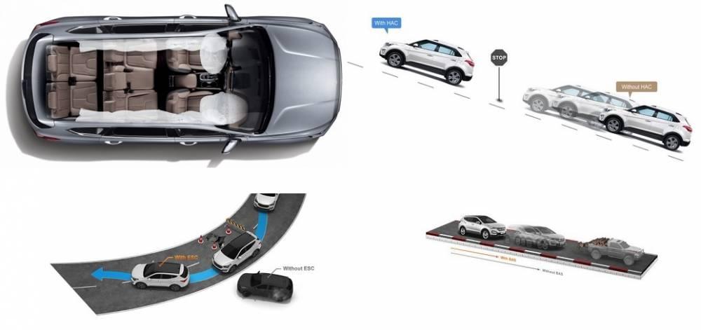 An toàn trên Hyundai Tucson 2019 bản đặc biệt máy dầu
