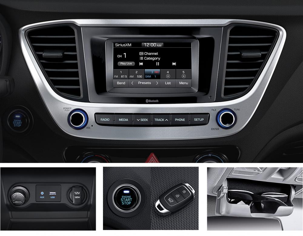 Hiếm có chiếc xe nào cùng phân khúc được trang bị đầy đủ và an toàn như Accent bản đặc biệt