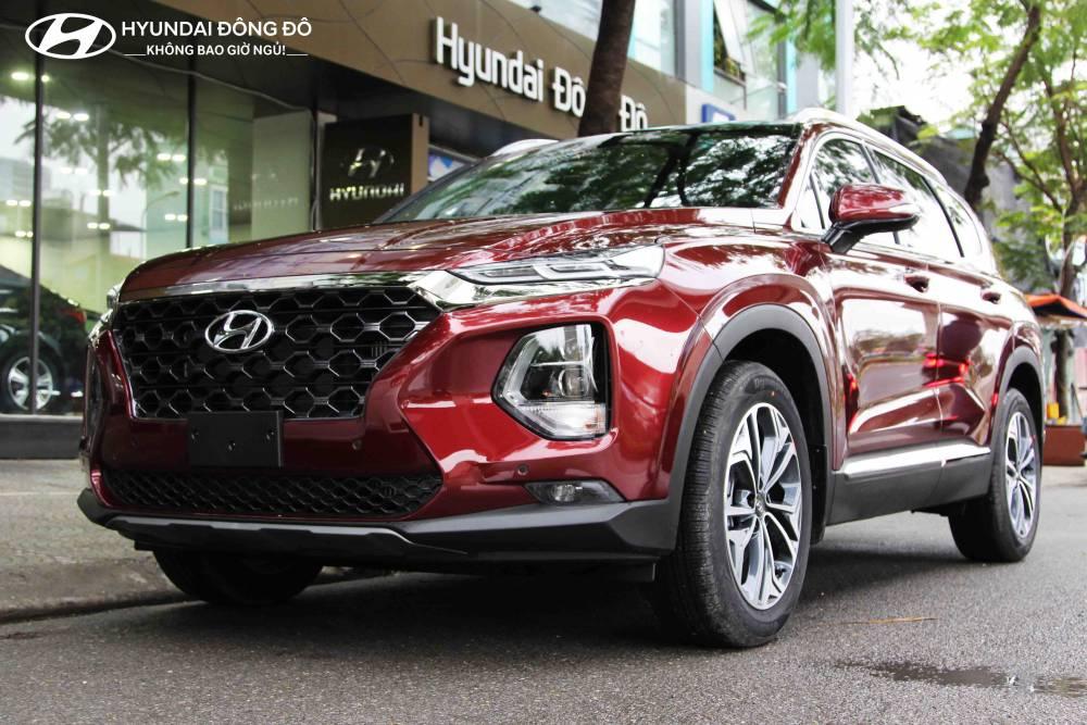 Giới thiệu Santafe 2019 đặc biệt Hyundai Đông đô