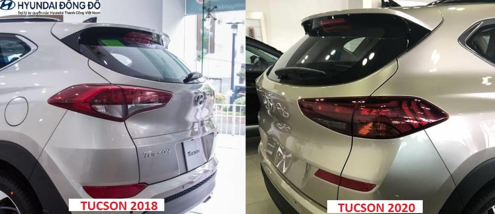 So sánh tucson 2018 và 2020