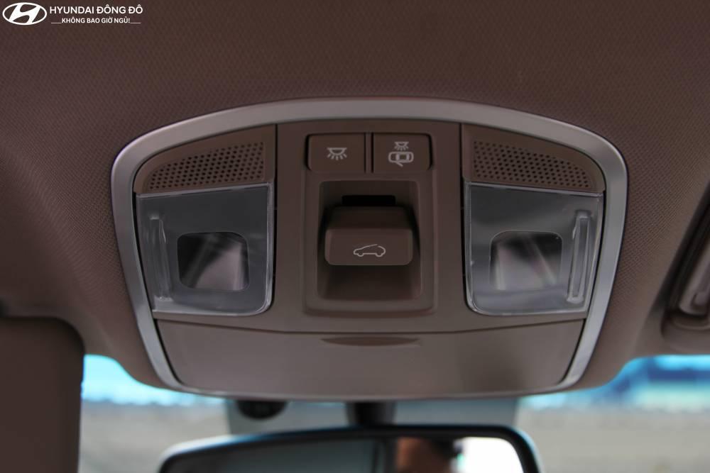 Điều chỉnh cửa sổ trời Panaroma Tucson 2019 bản turbo 1.6at