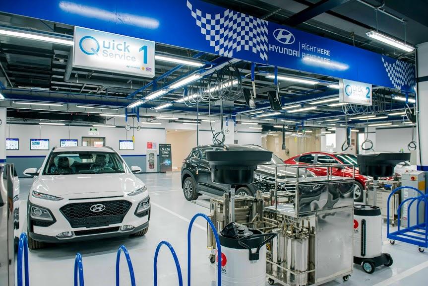 Bảo dưỡng xe Hyundai Đông Đô